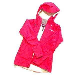 Patagonia Bright Pink Raincoat